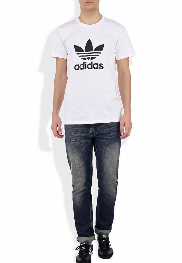Футболка с надписями Adidas Originals (Адидас Ориджиналс) X41281: изображение 7