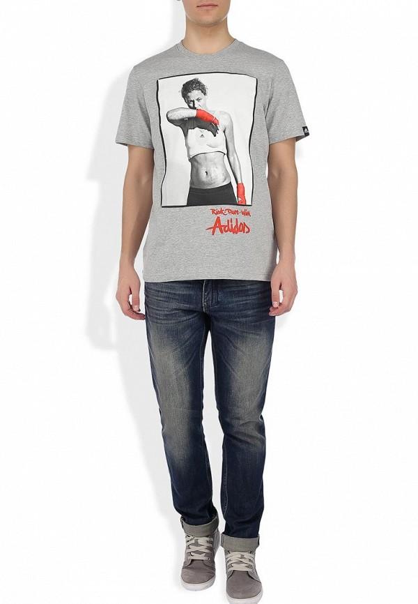 Спортивная футболка Adidas Performance (Адидас Перфоманс) G72539: изображение 4