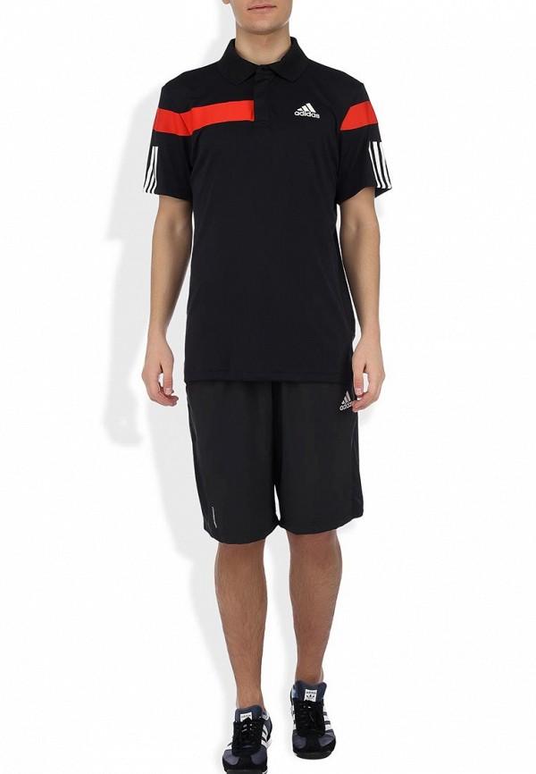 Мужские спортивные шорты Adidas Performance (Адидас Перфоманс) G77716: изображение 4