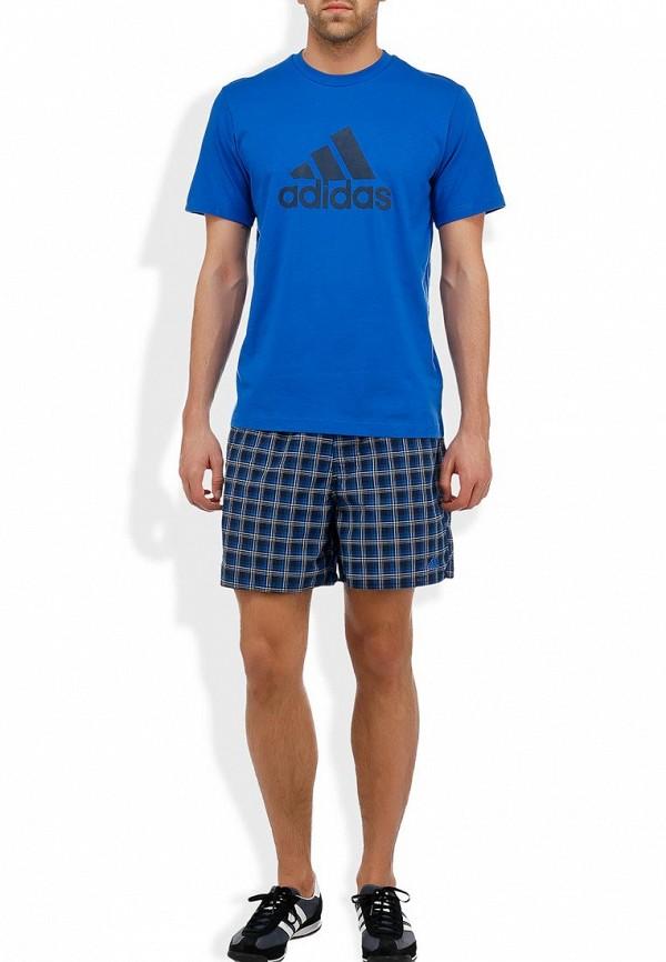 Мужские спортивные шорты Adidas Performance (Адидас Перфоманс) Z20878: изображение 7