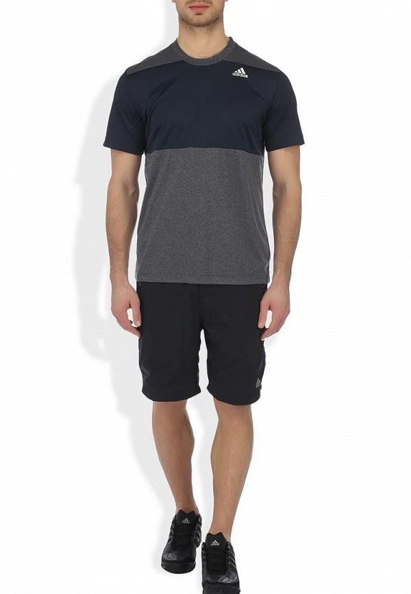 Спортивная футболка Adidas Performance (Адидас Перфоманс) G81483: изображение 4