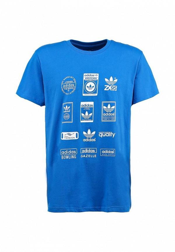 Спортивная футболка Adidas Originals (Адидас Ориджиналс) G86577: изображение 2