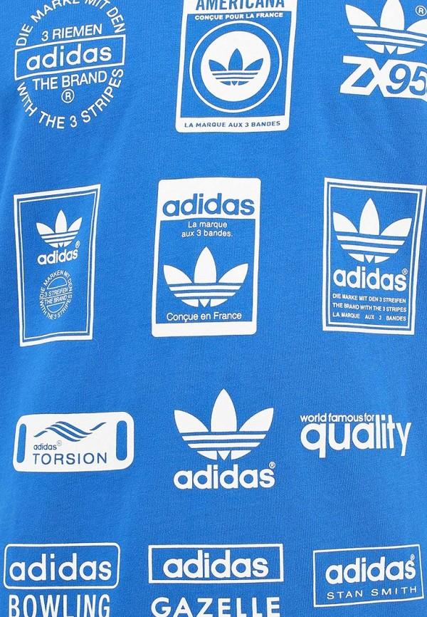 Спортивная футболка Adidas Originals (Адидас Ориджиналс) G86577: изображение 5