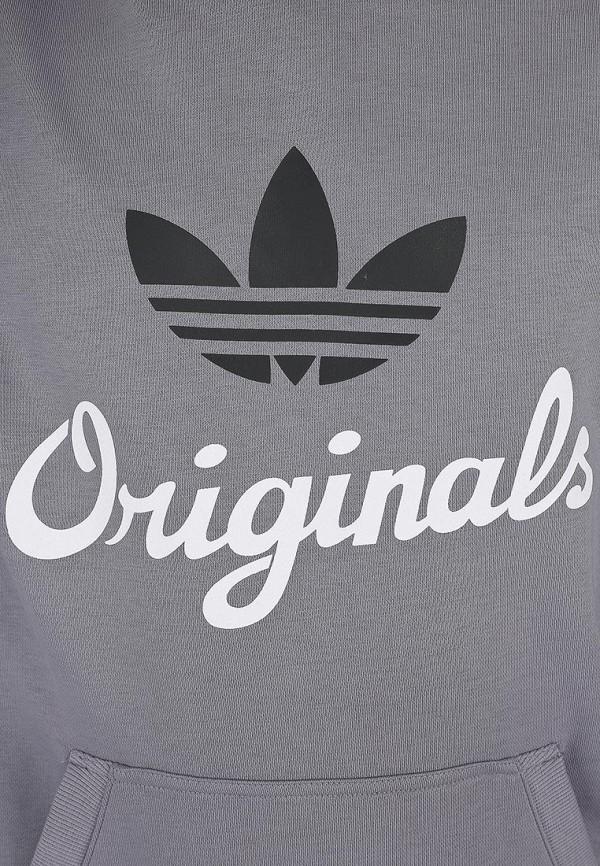 Флисовая толстовка Adidas Originals (Адидас Ориджиналс) G84738: изображение 5