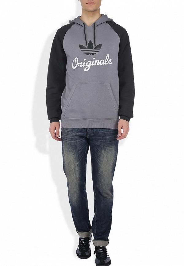 Флисовая толстовка Adidas Originals (Адидас Ориджиналс) G84738: изображение 6