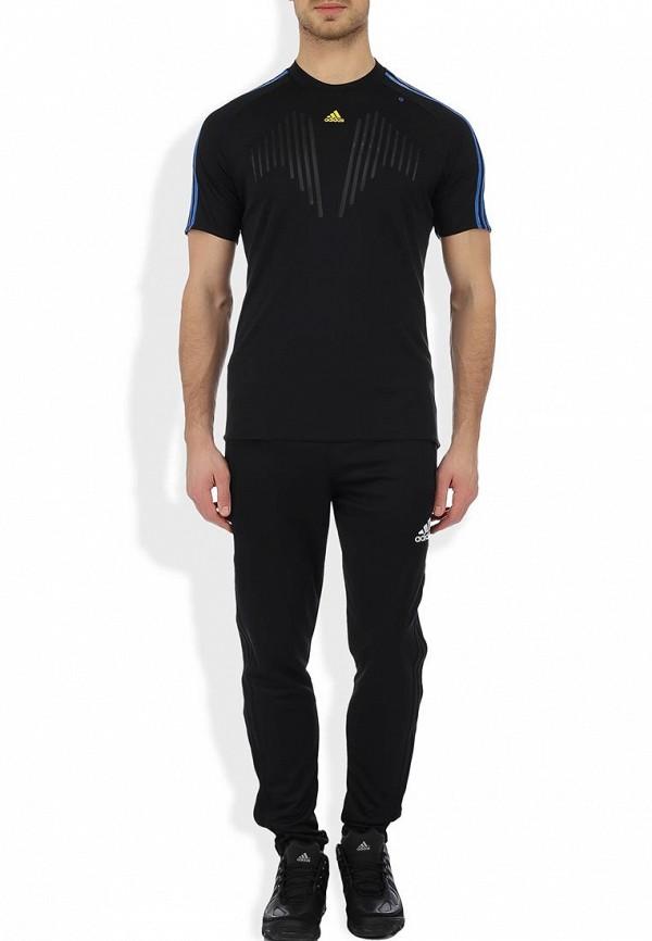 Спортивная футболка Adidas Performance (Адидас Перфоманс) Z04640: изображение 4