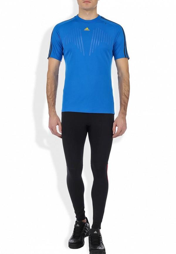 Спортивная футболка Adidas Performance (Адидас Перфоманс) W55033: изображение 4