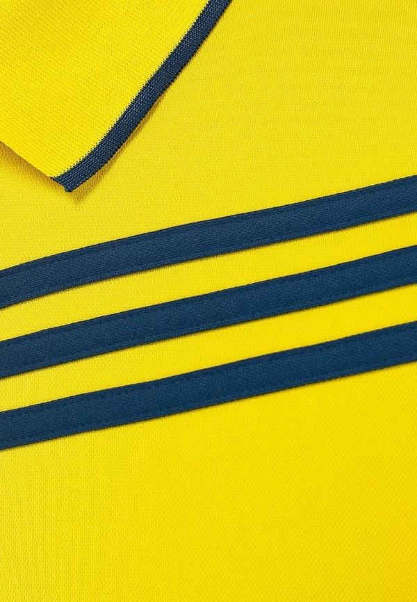 Мужские поло Adidas Performance (Адидас Перфоманс) Z11856: изображение 3