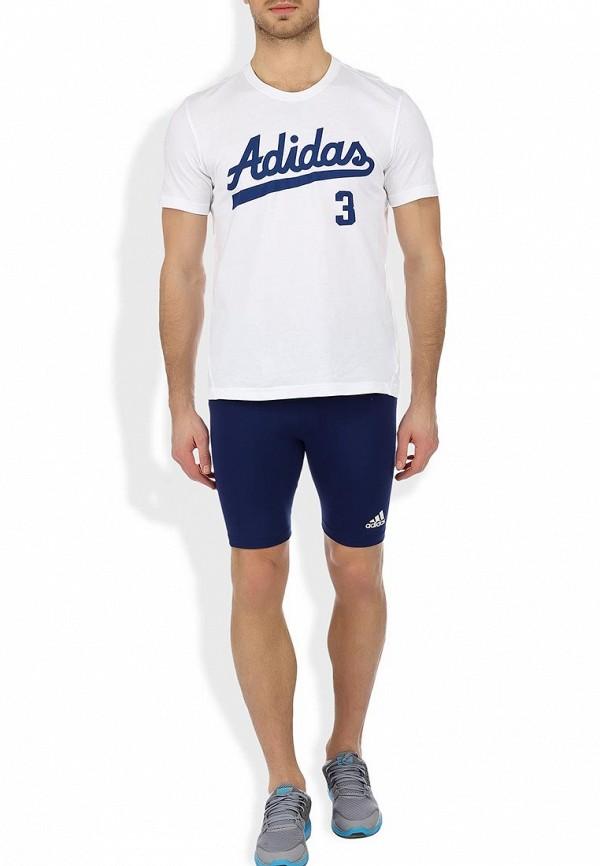 Мужские спортивные шорты Adidas Performance (Адидас Перфоманс) 557879: изображение 4