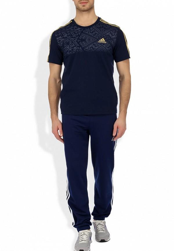 Спортивная футболка Adidas Performance (Адидас Перфоманс) G75494: изображение 4