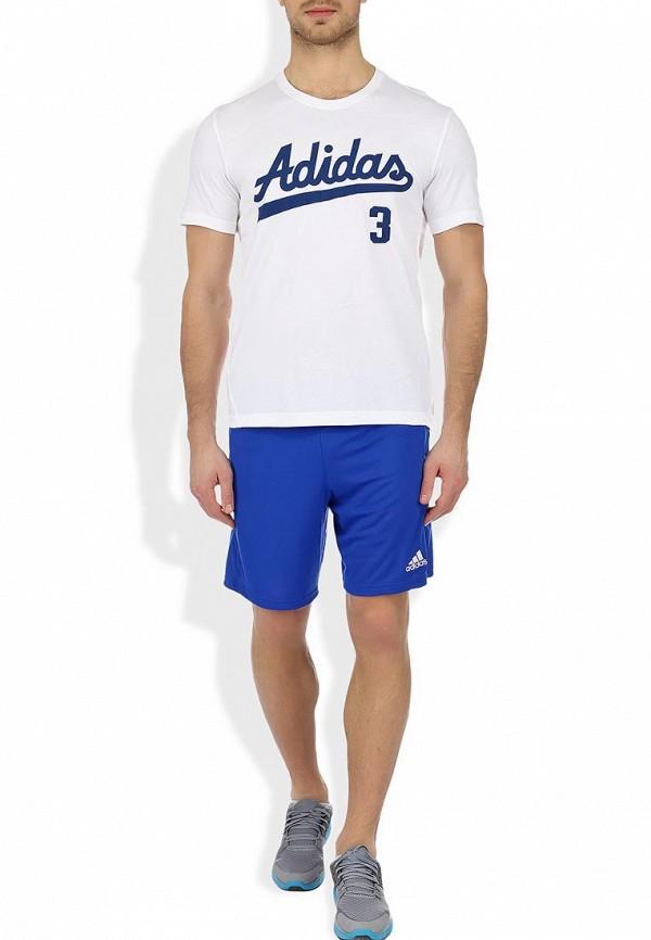 Мужские спортивные шорты Adidas Performance (Адидас Перфоманс) Z21561: изображение 4