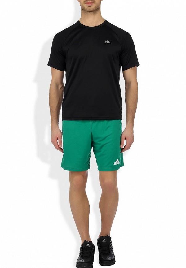 Мужские спортивные шорты Adidas Performance (Адидас Перфоманс) Z21568: изображение 4