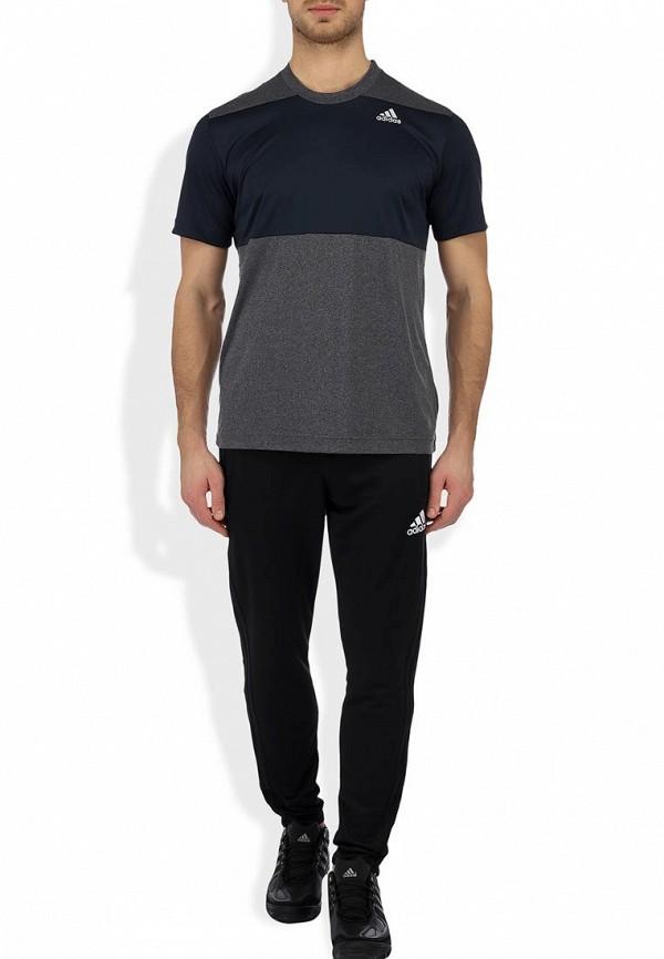 Мужские повседневные брюки Adidas Performance (Адидас Перфоманс) D83745: изображение 8