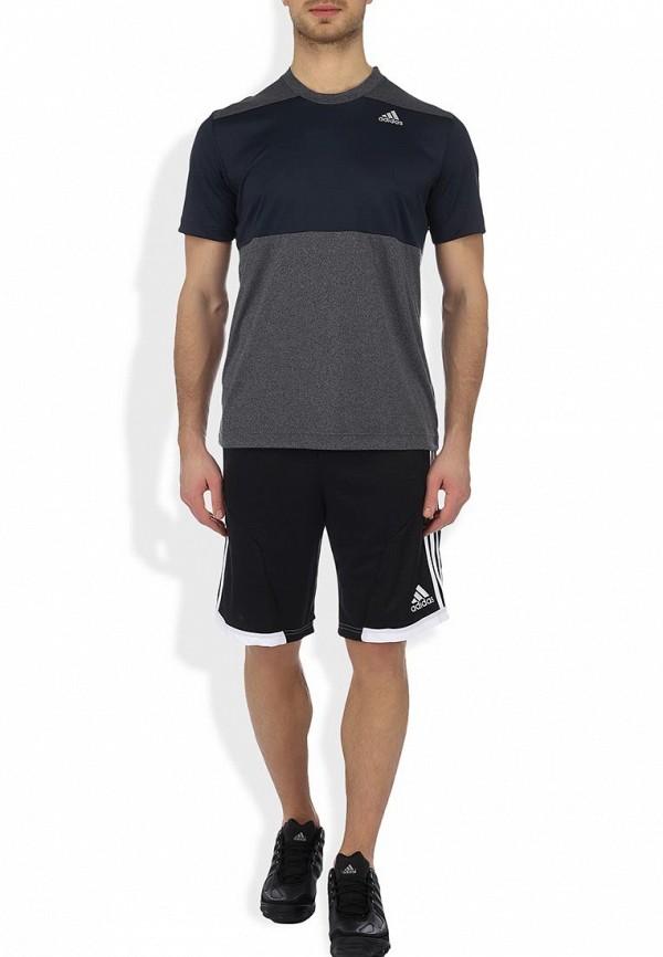 Мужские спортивные шорты Adidas Performance (Адидас Перфоманс) W55419: изображение 4