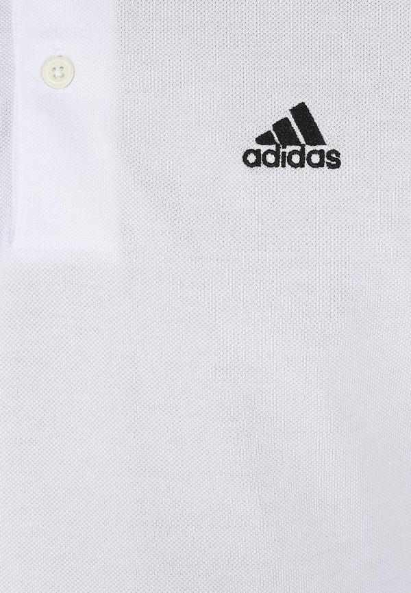 Мужские поло Adidas Performance (Адидас Перфоманс) X19179: изображение 4