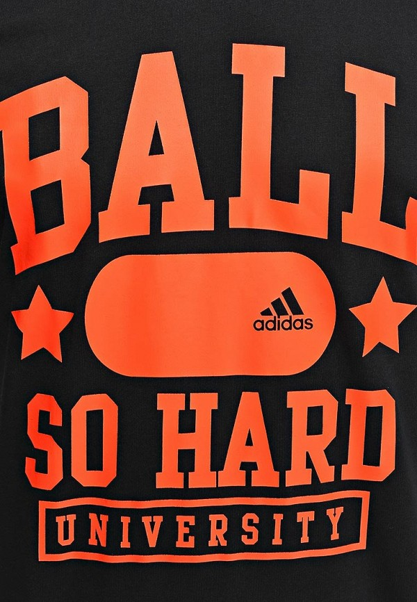 Футболка с надписями Adidas Performance (Адидас Перфоманс) M31012: изображение 5