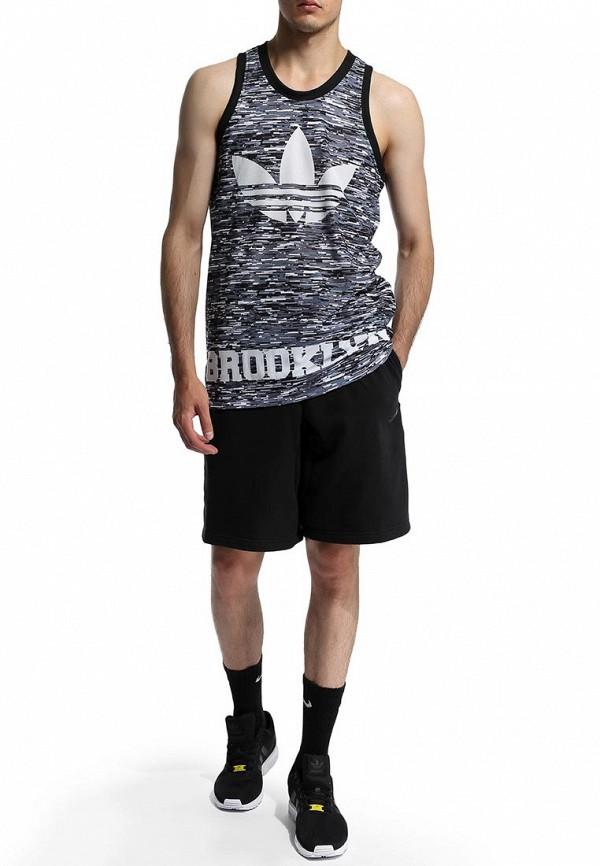 Мужские спортивные шорты Adidas Performance (Адидас Перфоманс) M66694: изображение 6