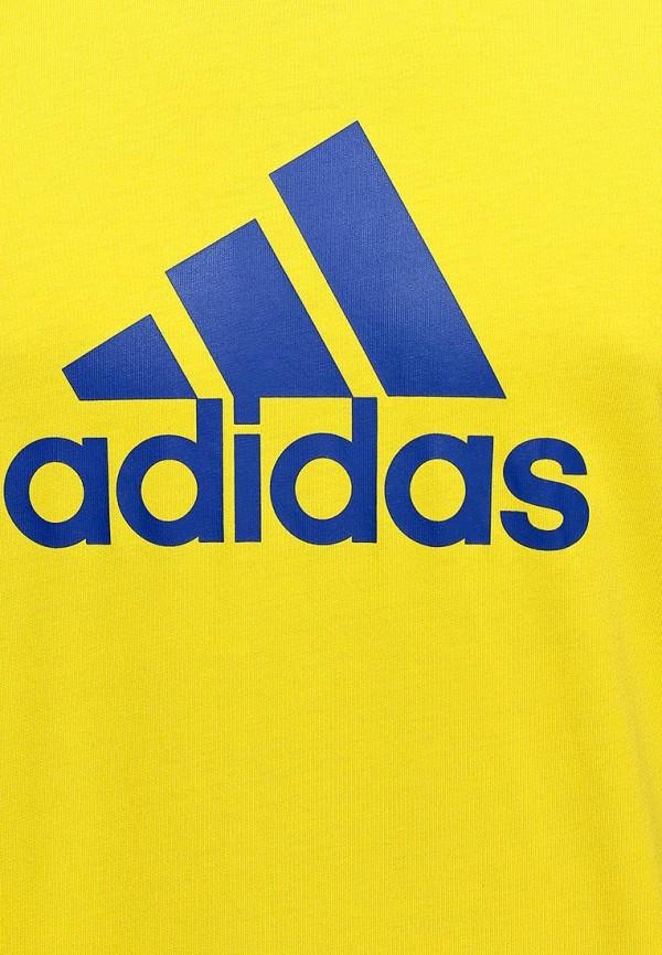 Футболка с надписями Adidas Performance (Адидас Перфоманс) M35964: изображение 4