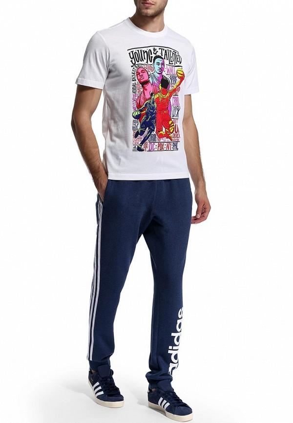 Мужские спортивные брюки Adidas Performance (Адидас Перфоманс) M67409: изображение 6