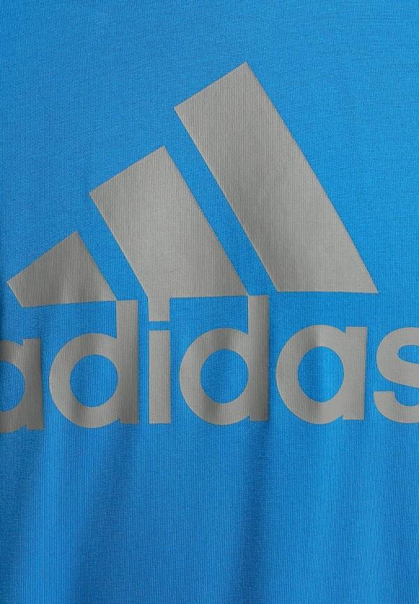 Спортивная футболка Adidas Performance (Адидас Перфоманс) M67502: изображение 4
