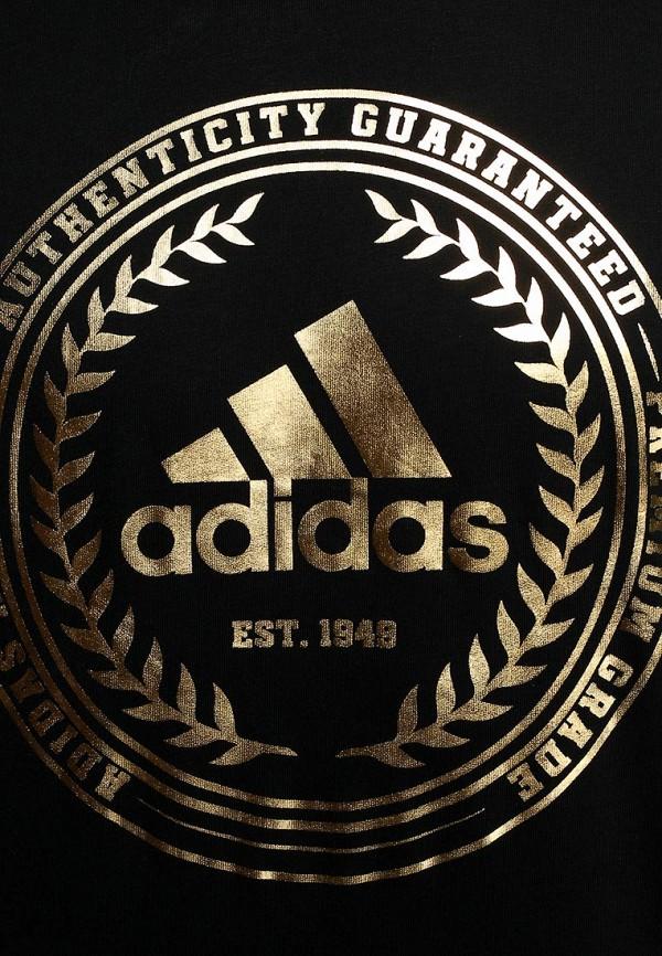 Футболка с надписями Adidas Performance (Адидас Перфоманс) M68934: изображение 5