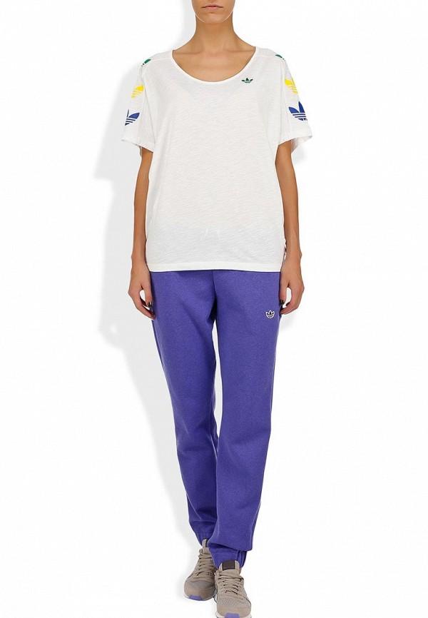 Женские спортивные брюки Adidas Originals (Адидас Ориджиналс) G84730: изображение 4