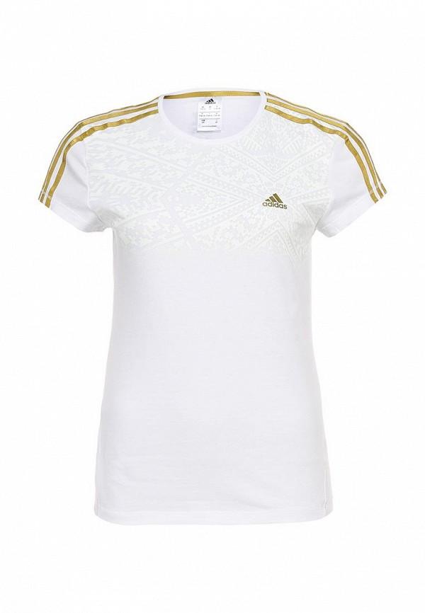 Спортивная футболка Adidas Performance (Адидас Перфоманс) G85925: изображение 1