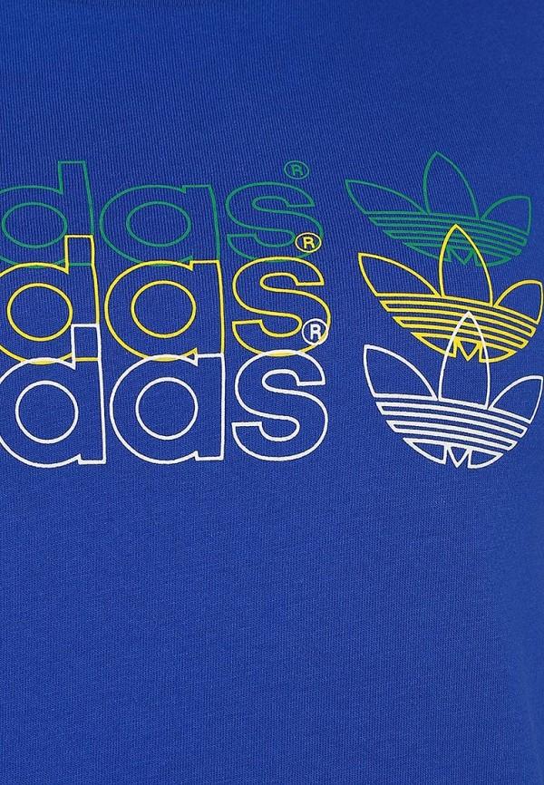 Спортивная футболка Adidas Originals (Адидас Ориджиналс) G77324: изображение 3