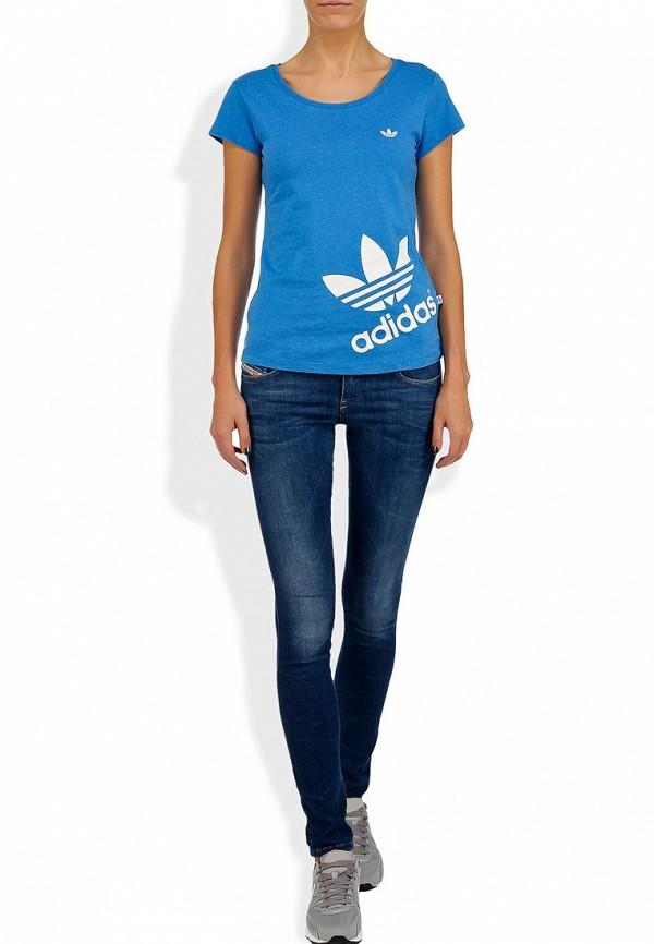 Спортивная футболка Adidas Originals (Адидас Ориджиналс) G77393: изображение 4