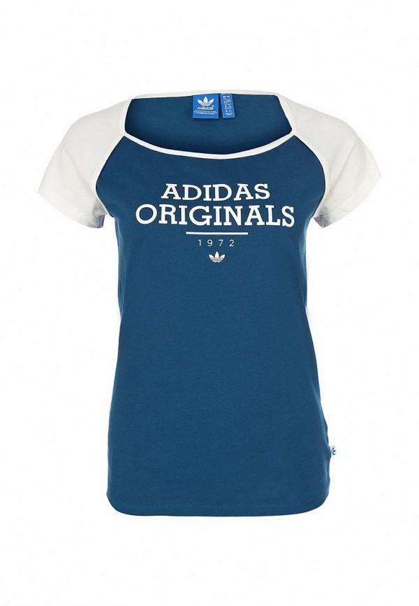 Спортивная футболка Adidas Originals (Адидас Ориджиналс) F77636: изображение 1