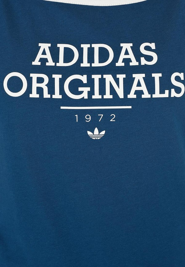 Спортивная футболка Adidas Originals (Адидас Ориджиналс) F77636: изображение 3