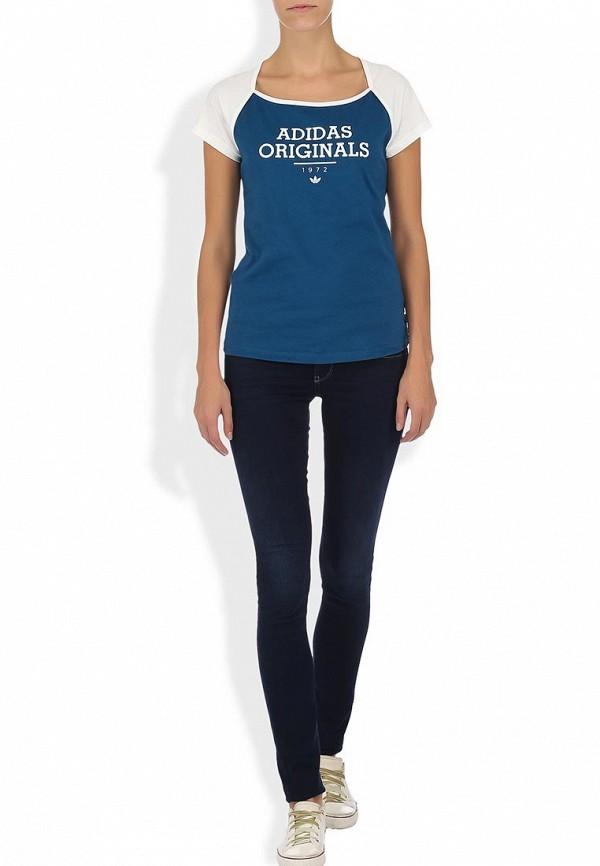 Спортивная футболка Adidas Originals (Адидас Ориджиналс) F77636: изображение 4