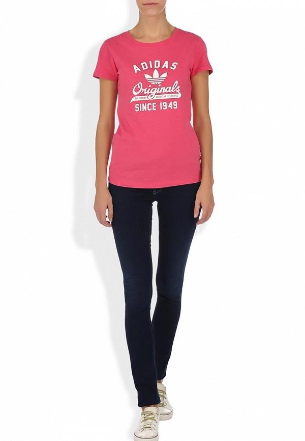 Спортивная футболка Adidas Originals (Адидас Ориджиналс) G75030: изображение 4