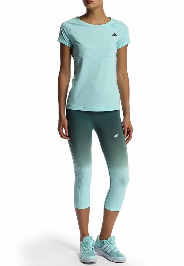 Женские спортивные брюки Adidas Performance (Адидас Перфоманс) M67054: изображение 6