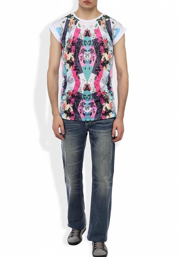 Мужские широкие и расклешенные джинсы Affliction (Аффликшн) 110BC076: изображение 7