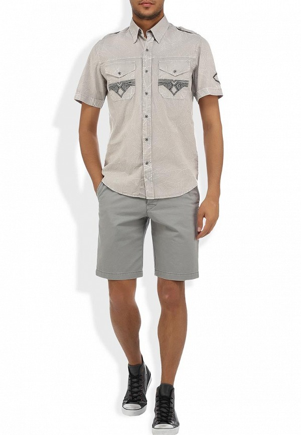 Рубашка с коротким рукавом Affliction (Аффликшн) 110WV257: изображение 6