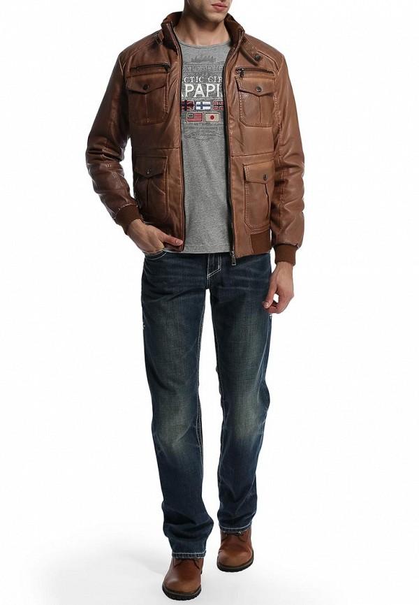 Мужские прямые джинсы Affliction (Аффликшн) 110LF020: изображение 7