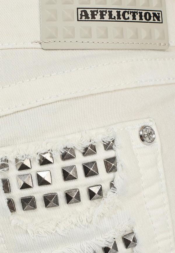 Женские джинсовые шорты Affliction (Аффликшн) 111DS034: изображение 4