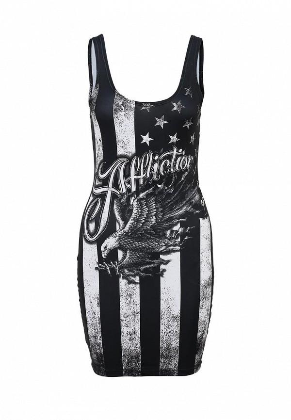 Платье-мини Affliction (Аффликшн) AW9839: изображение 1