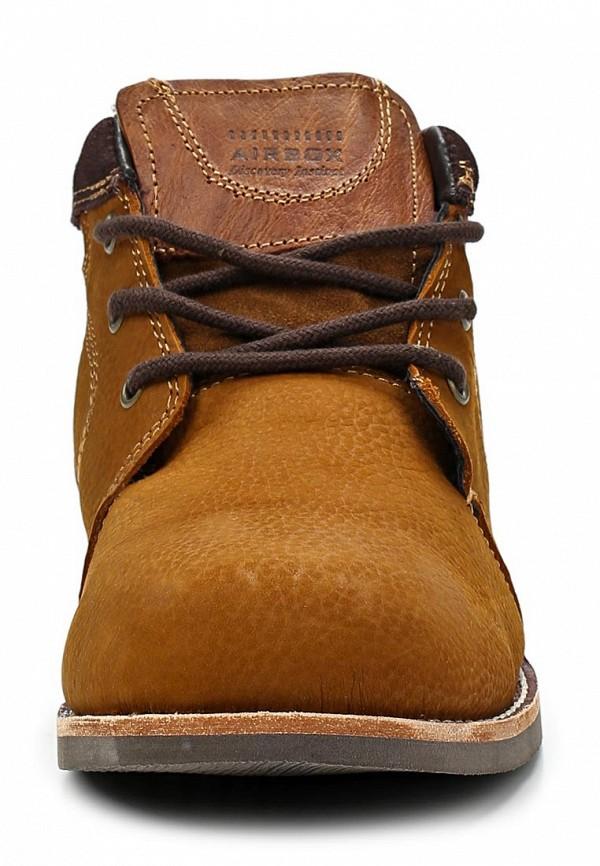 Мужские ботинки Airbox (Эйрбокс) Tw775-NF Tan: изображение 7