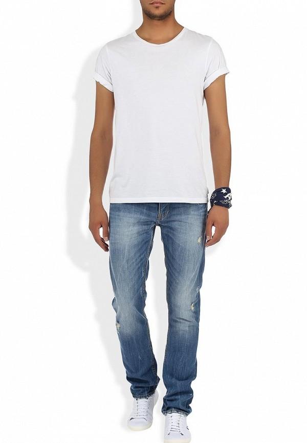 Мужские прямые джинсы Alcott 5T1666UOL759 C753 YELLOW: изображение 6