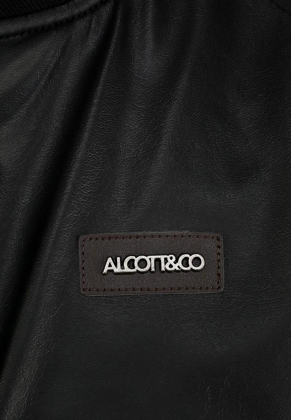 Кожаная куртка Alcott GB1920UO C101 BLACK: изображение 3