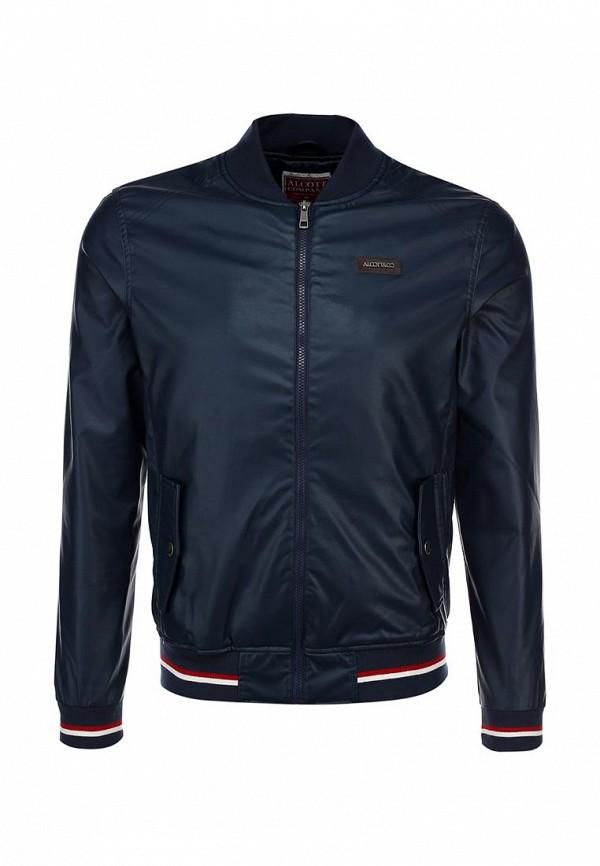 Кожаная куртка Alcott GB1920UO C218 BLUNAVY: изображение 1