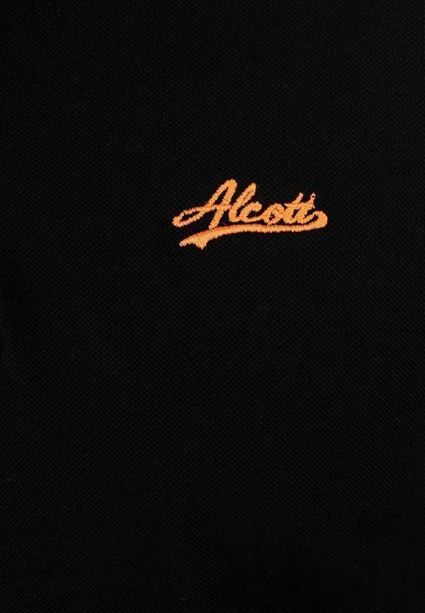 Мужские поло Alcott PP2309UO C101 BLACK: изображение 3