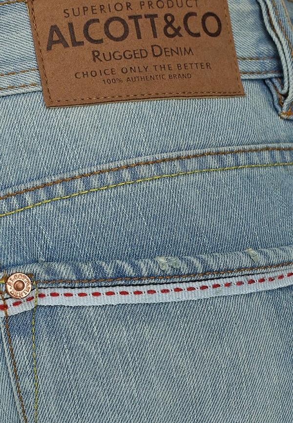 Зауженные джинсы Alcott 5T1688UL399L C293 AZZURRE: изображение 4