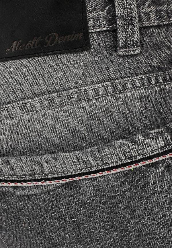 Зауженные джинсы Alcott 5T1696UL887G C120 GREY: изображение 4