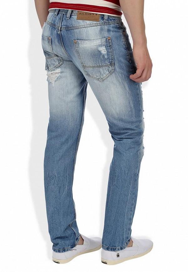 Зауженные джинсы Alcott 5T1708UL555 C293 AZZURRE: изображение 8