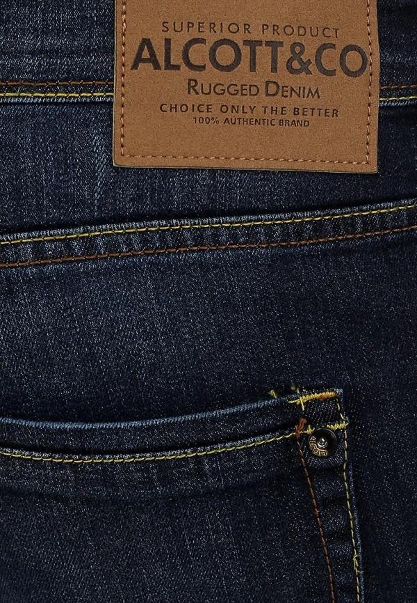 Прямые джинсы Alcott 5T1843UL963D C293 AZZURRE: изображение 4
