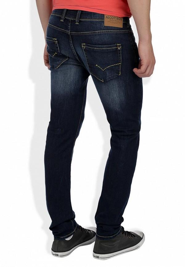Прямые джинсы Alcott 5T1843UL963D C293 AZZURRE: изображение 8