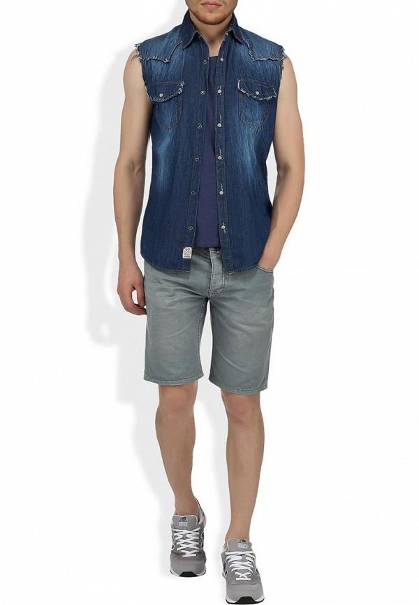 Мужские повседневные шорты Alcott BE1816UO C126 GREY: изображение 6
